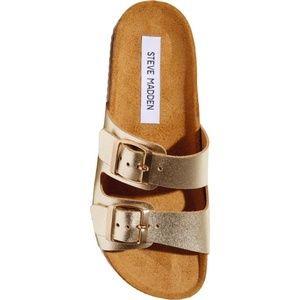 Steve madden barefoot leather sandals
